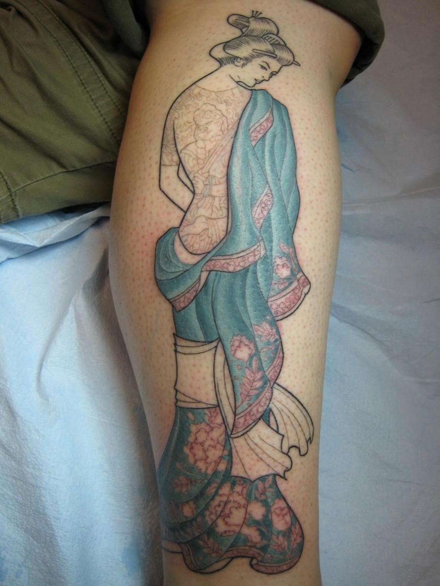 Tattooed Geisha!