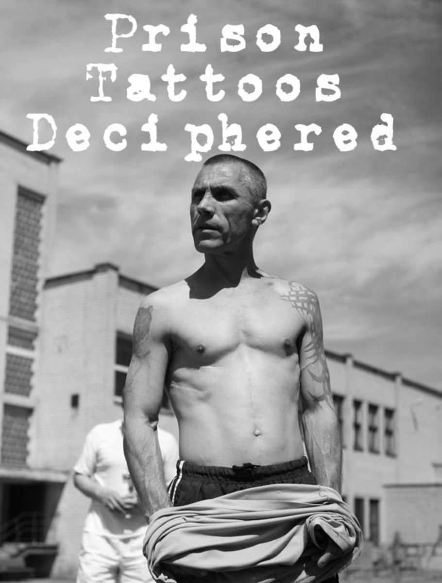 Prison Tattoos and Their Meanings