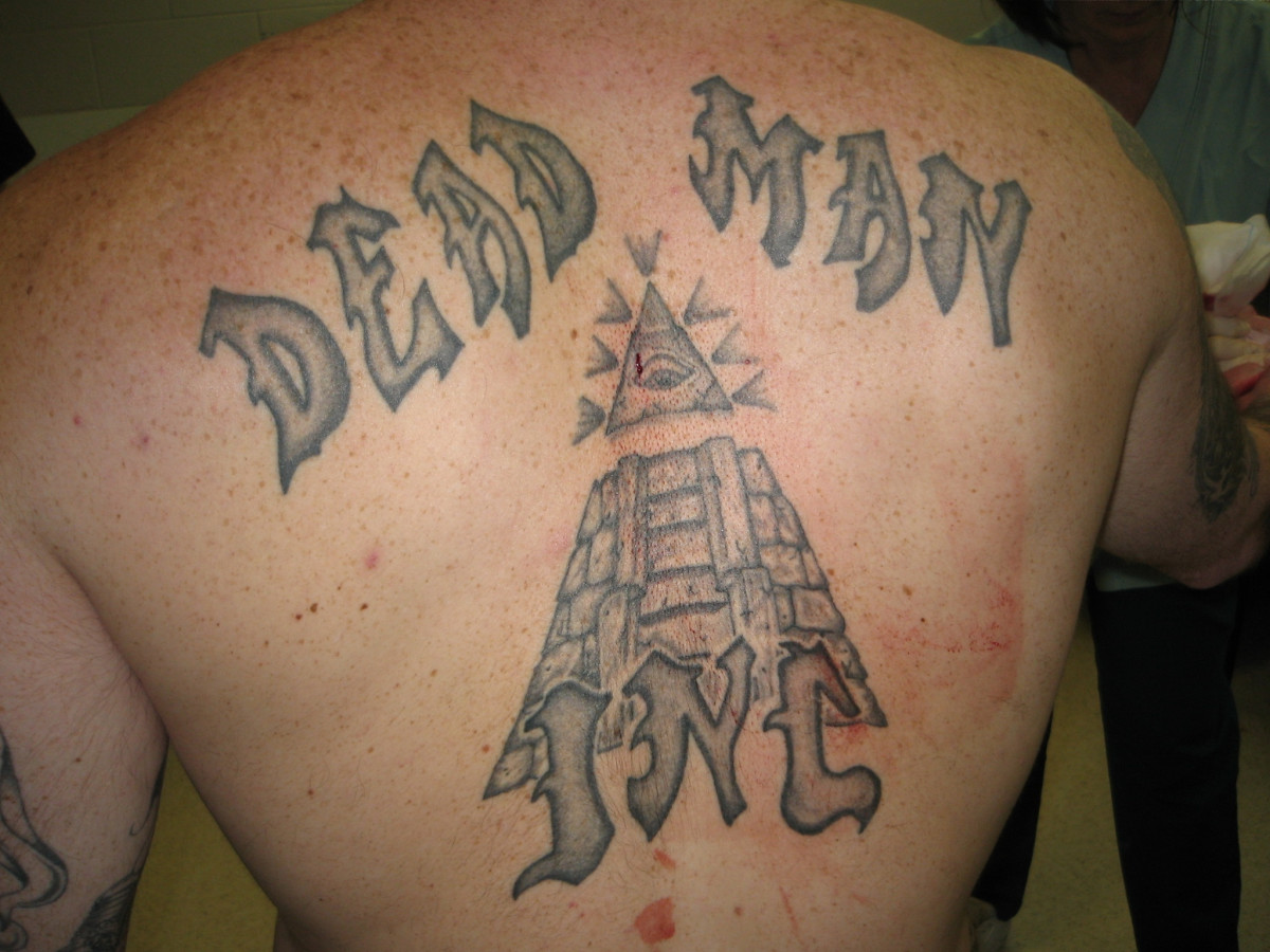 Dead Man Inc. (DMI) is a mainly white prison gang with members in many correctional facilities throughout the US.