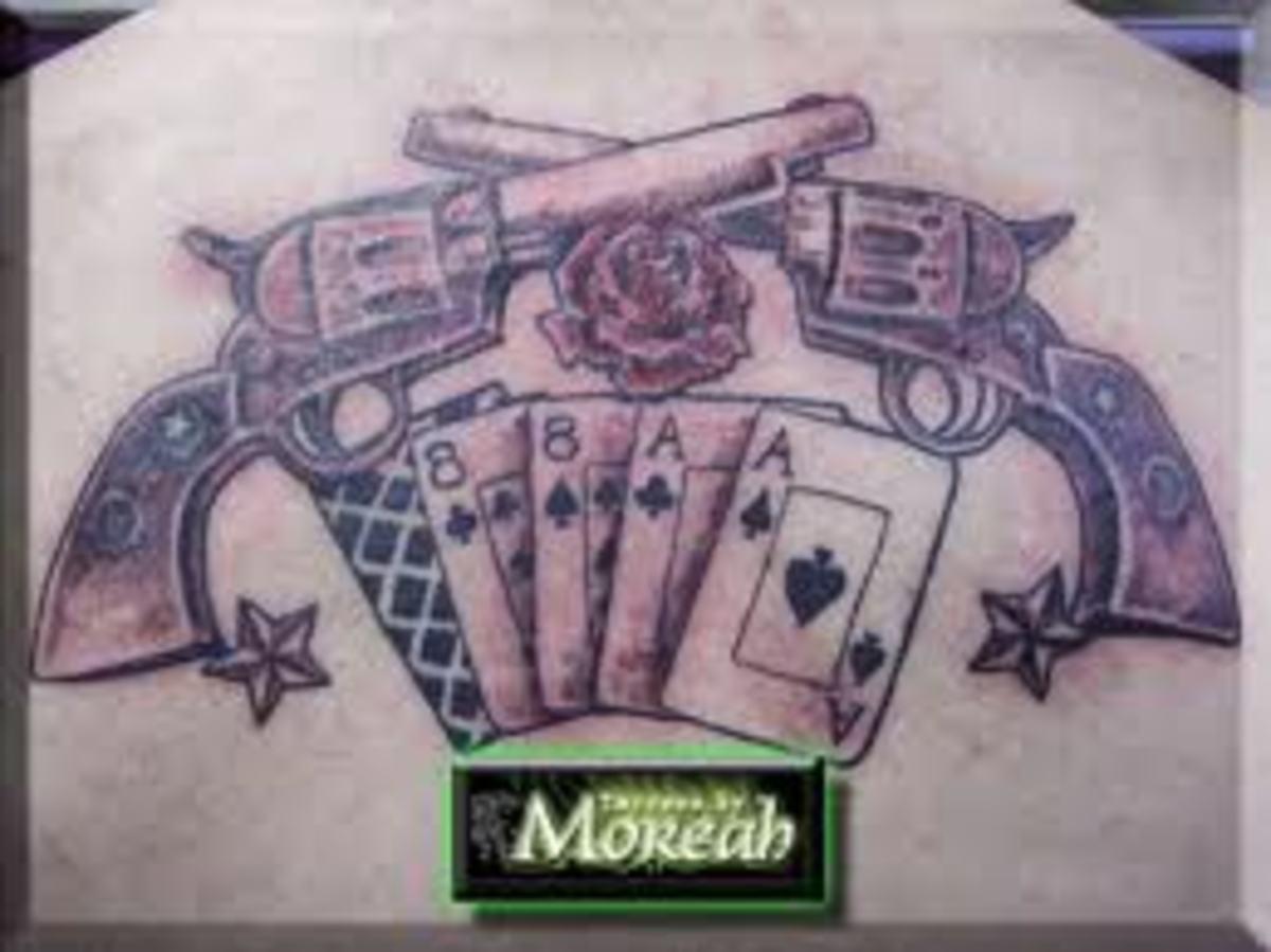 Gun Tattoo Picture