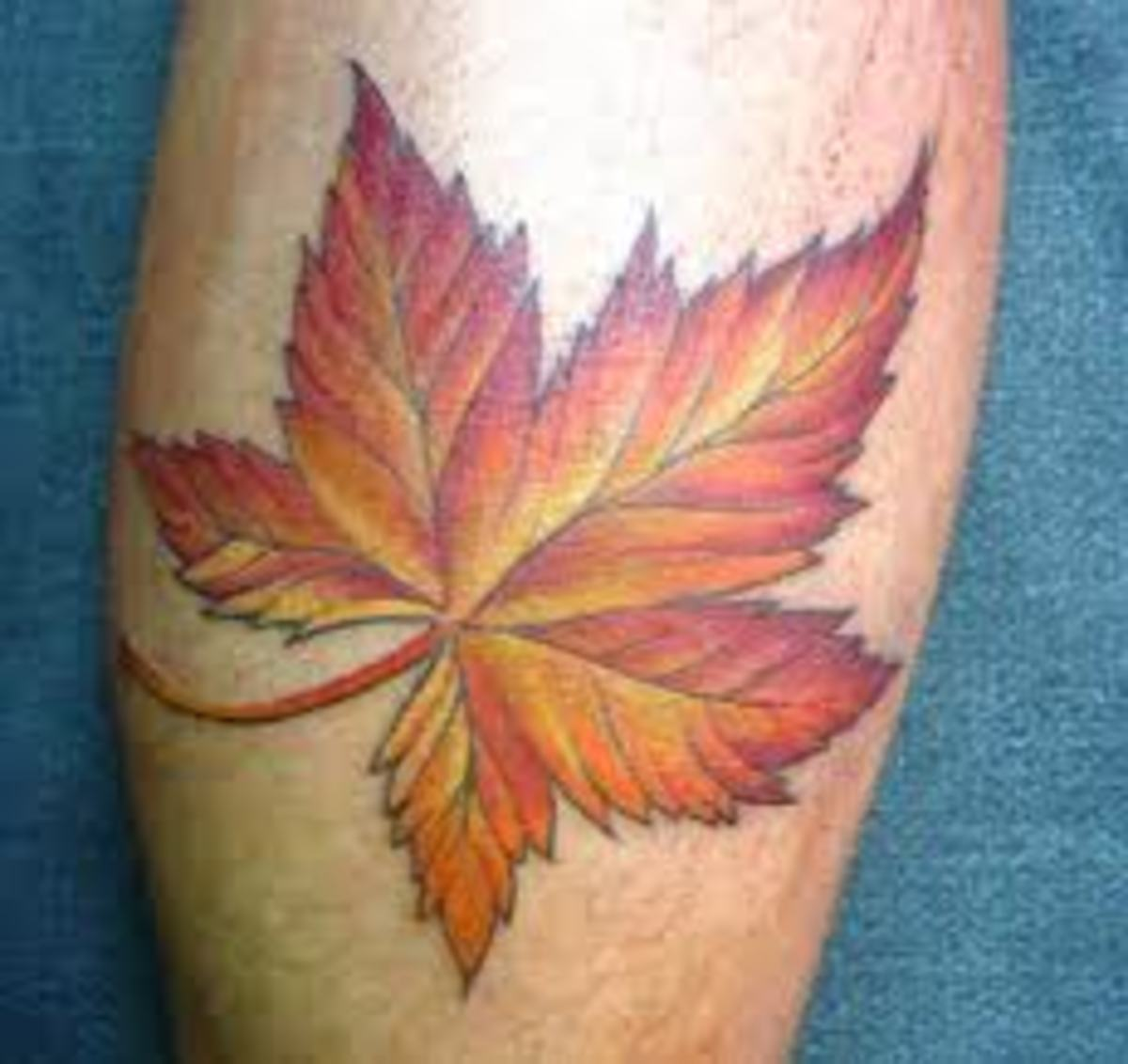 Leaf Tattoo Designs