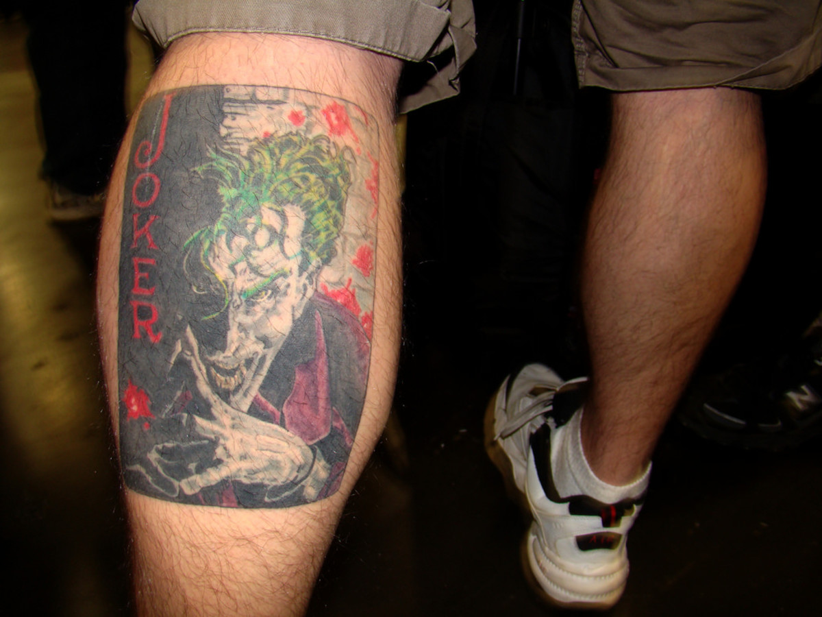 Joker Tattoo Design Ideas, Meanings, and Photos