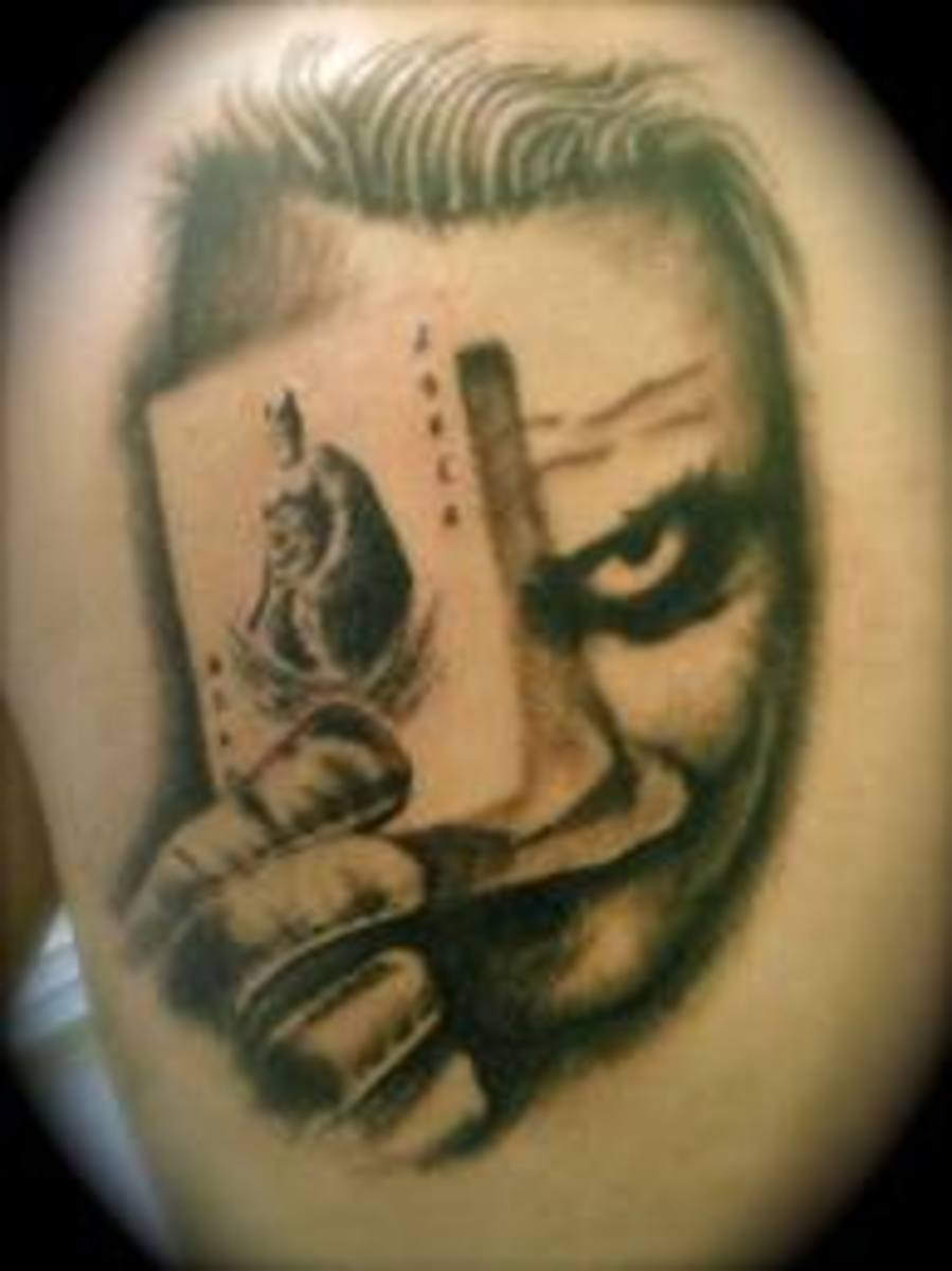 Joker Tattoos And Meanings-Joker Tattoo Designs And Ideas ...