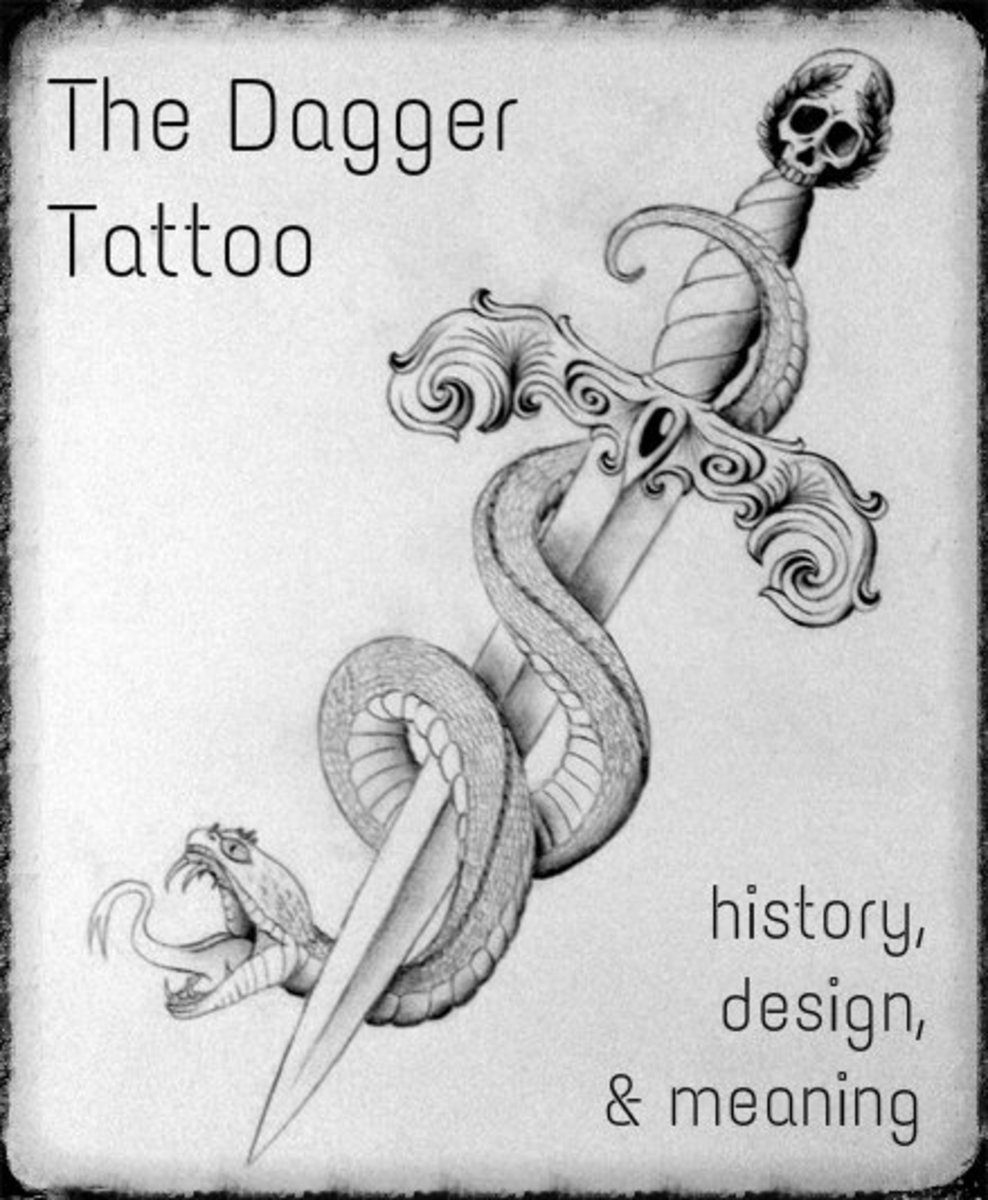 Dagger Tattoos: Ideas, Designs, and Meanings