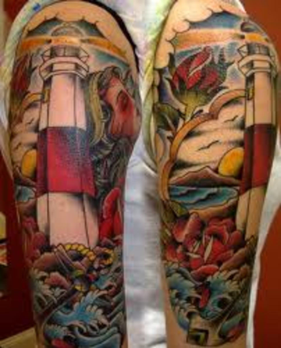 Lighthouse Tattoo Designs, Ideas, and Meanings