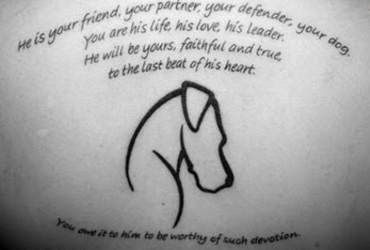 The Best Pet Memorial Tattoo