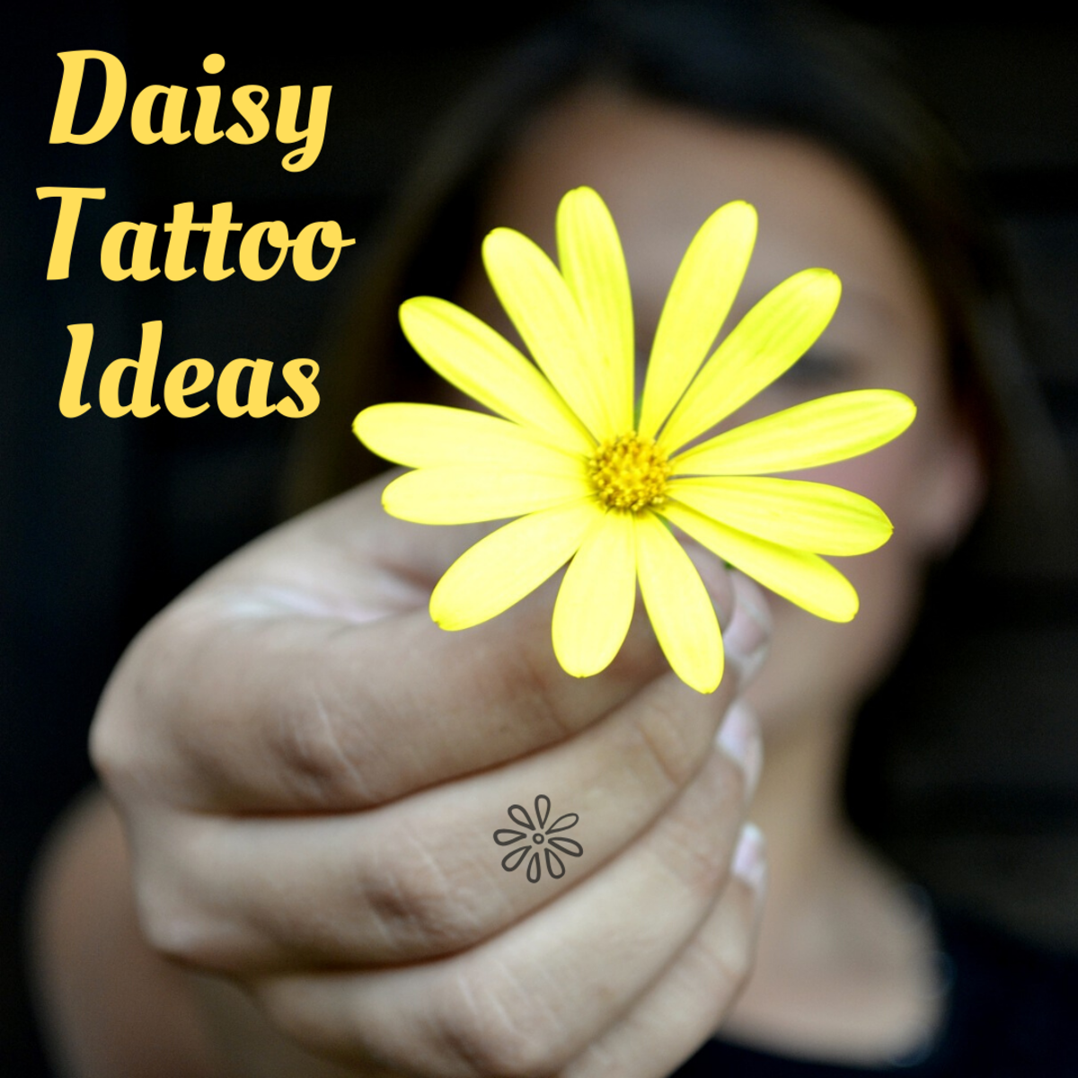 Look through a gallery of tattoo designs featuring the daisy flower.