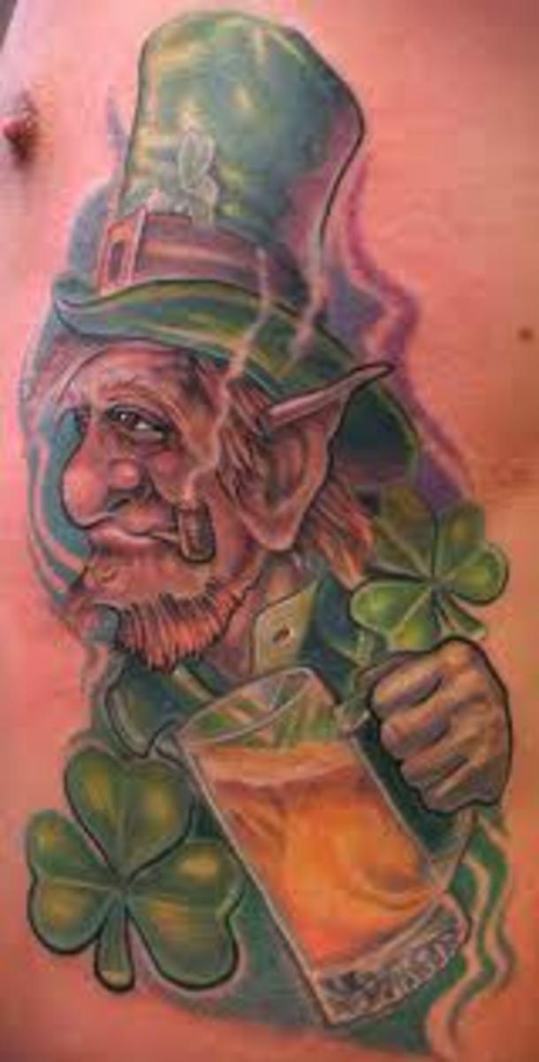 idei-dlya-tatuirovok - Лепрекон Татуировки -  - фото