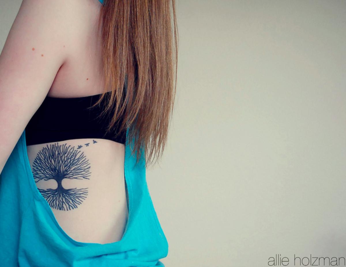 idei-dlya-tatuirovok - Татуировки дерева: проекты, идеи, смыслы, и фотографии -  - фото