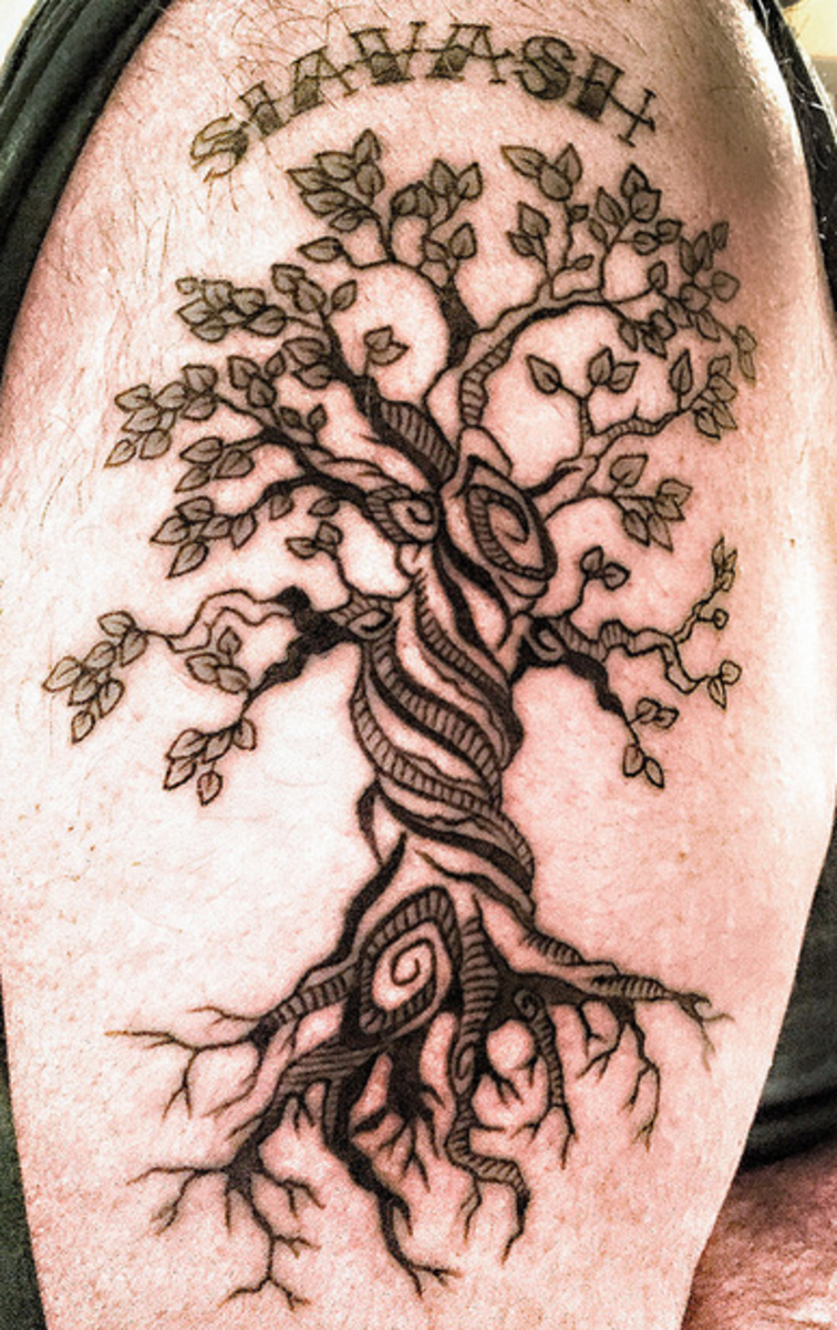 Tree Tattoos Designs Ideas Meanings And Photos
