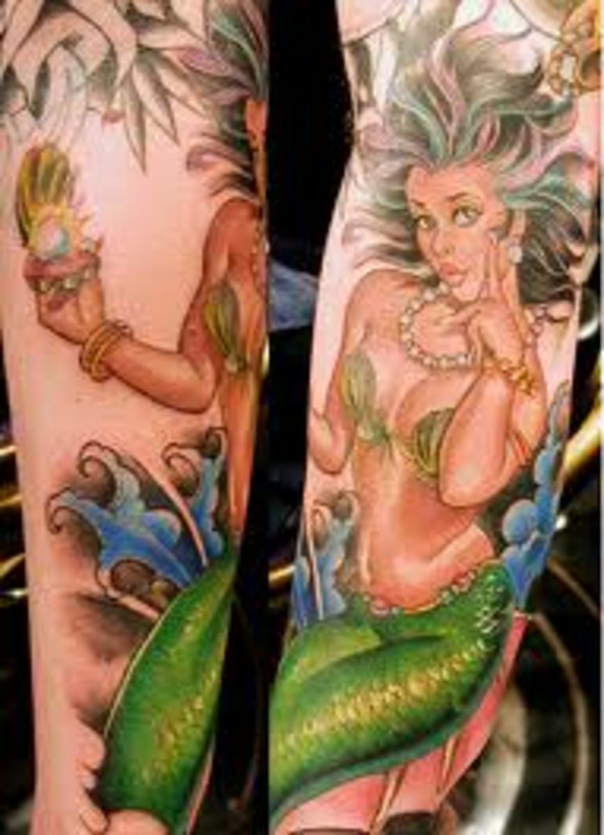 Mermaid Tattoo Designs And Meanings-Mermaid Tattoo Ideas And Pictures