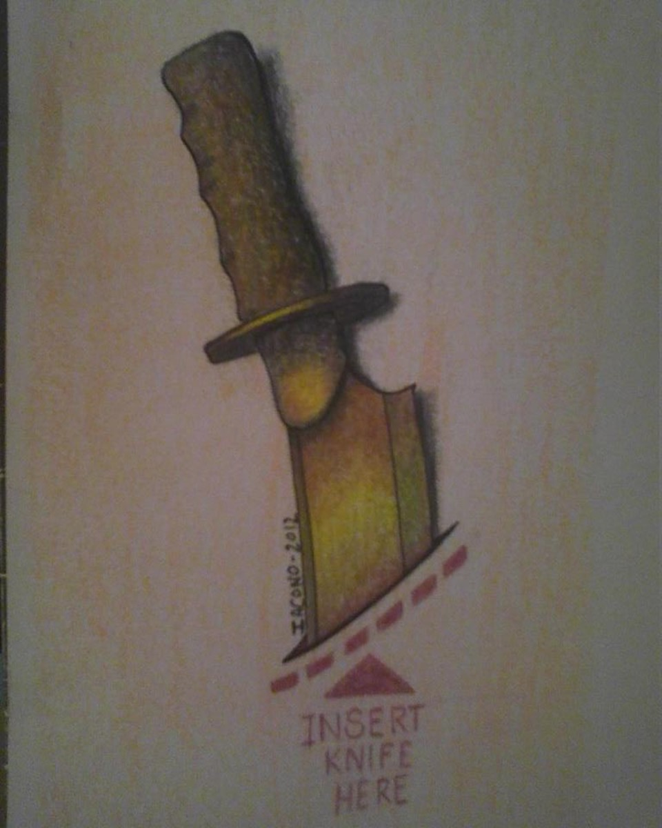 An example of something I included in my first tattoo portfolio.