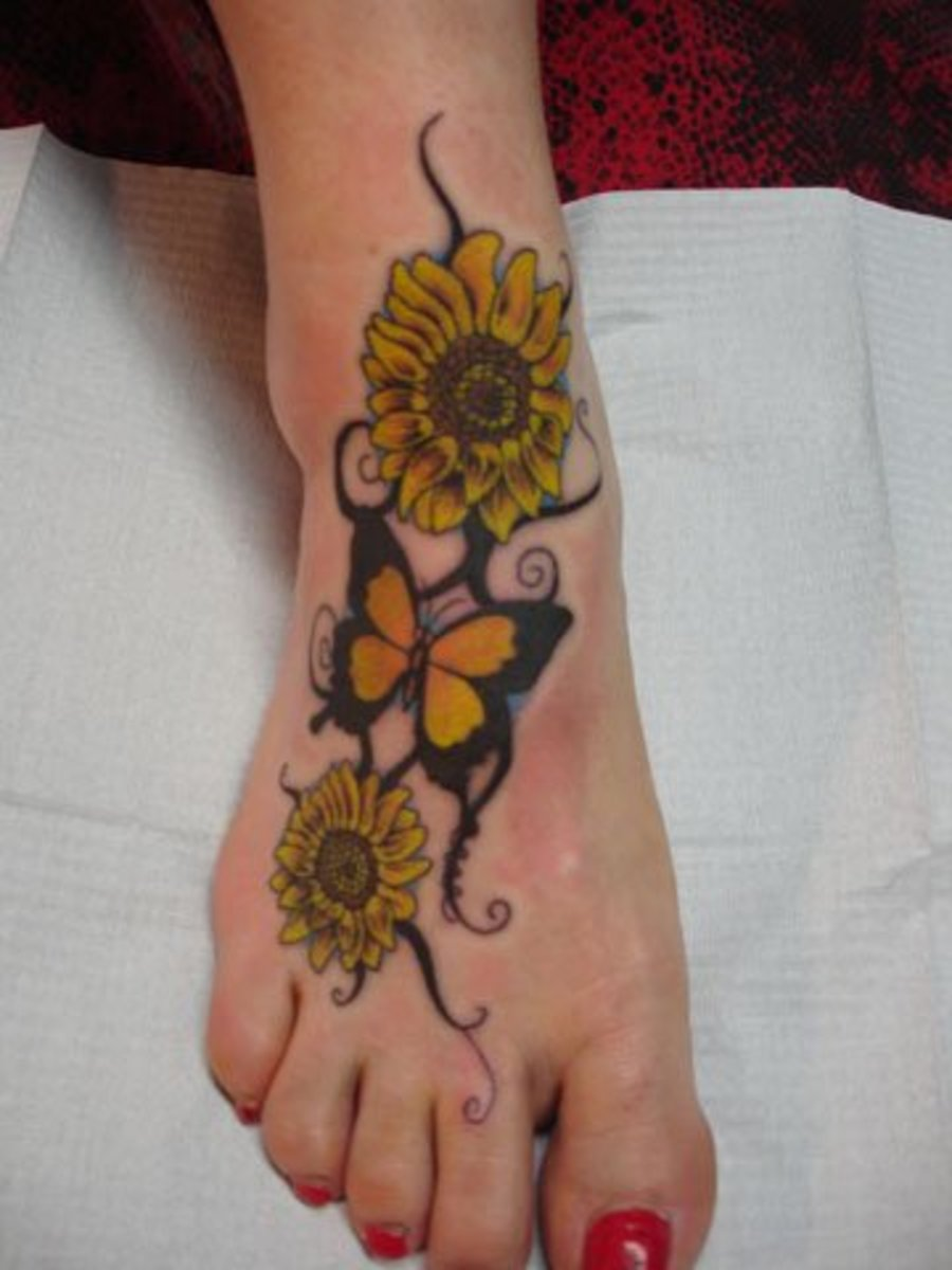 Sunflower Tattoo Designs Tatring Tattoos Piercings