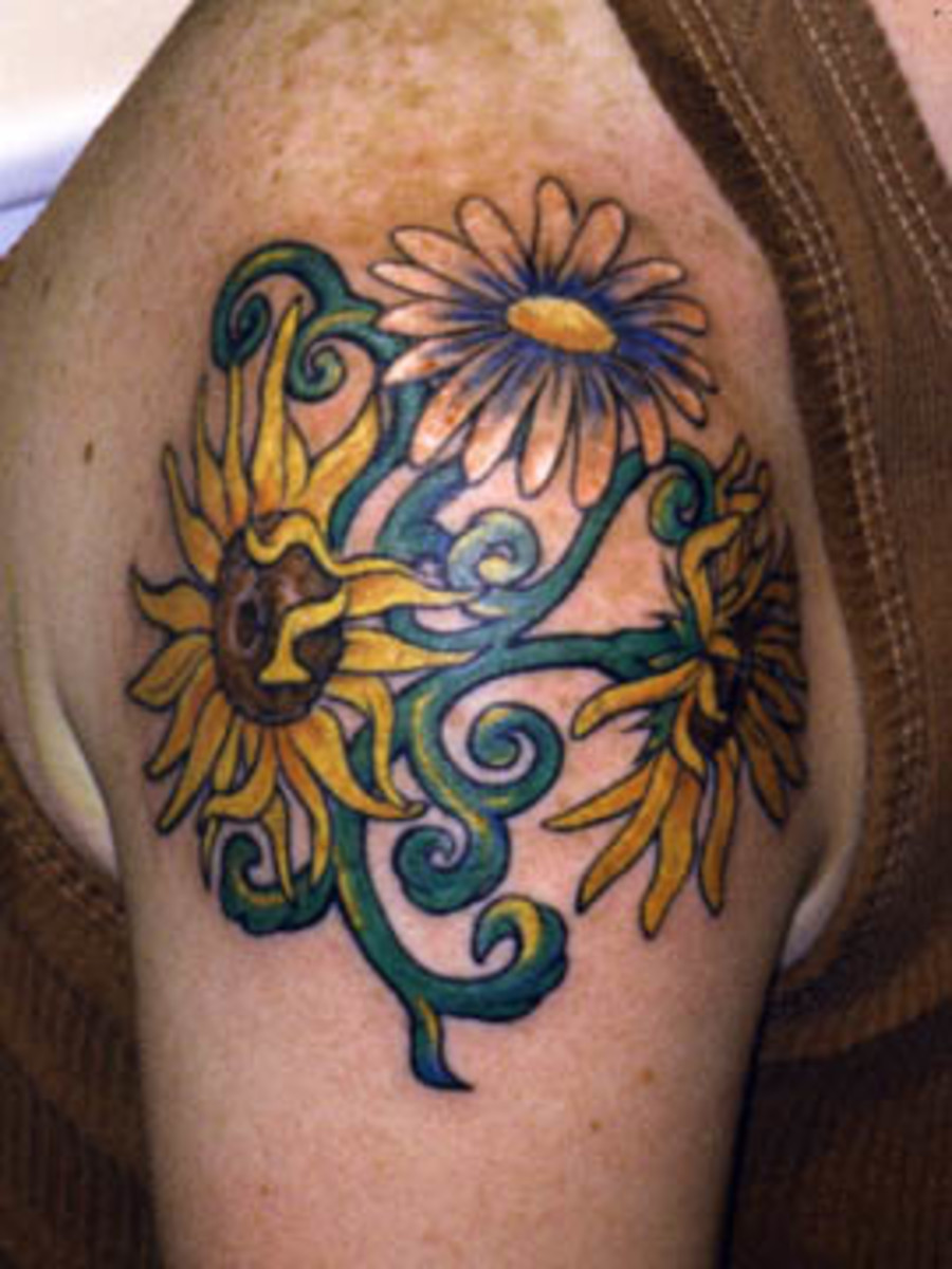 sunflowertattoodesignsgalleryphotos
