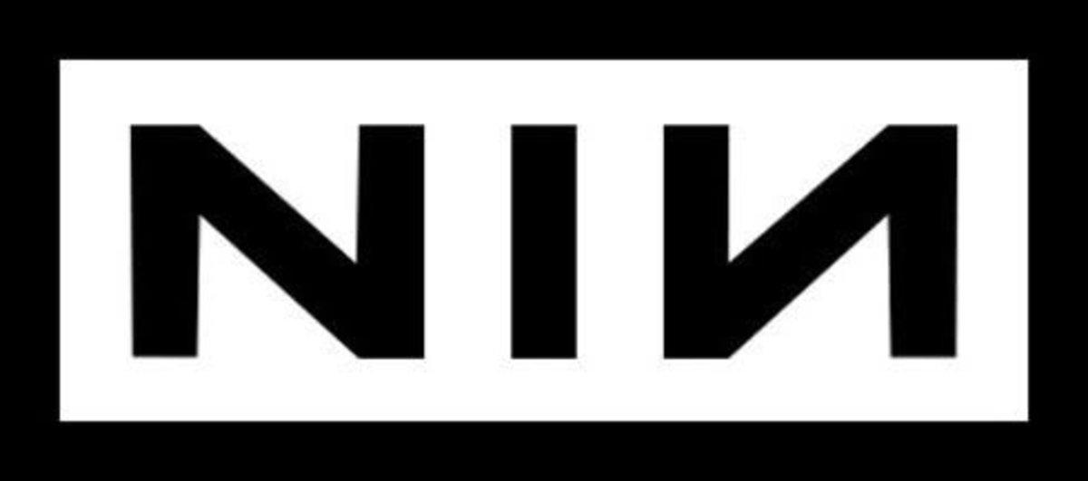 Nine Inch Nails logo (mirrored ambigram)