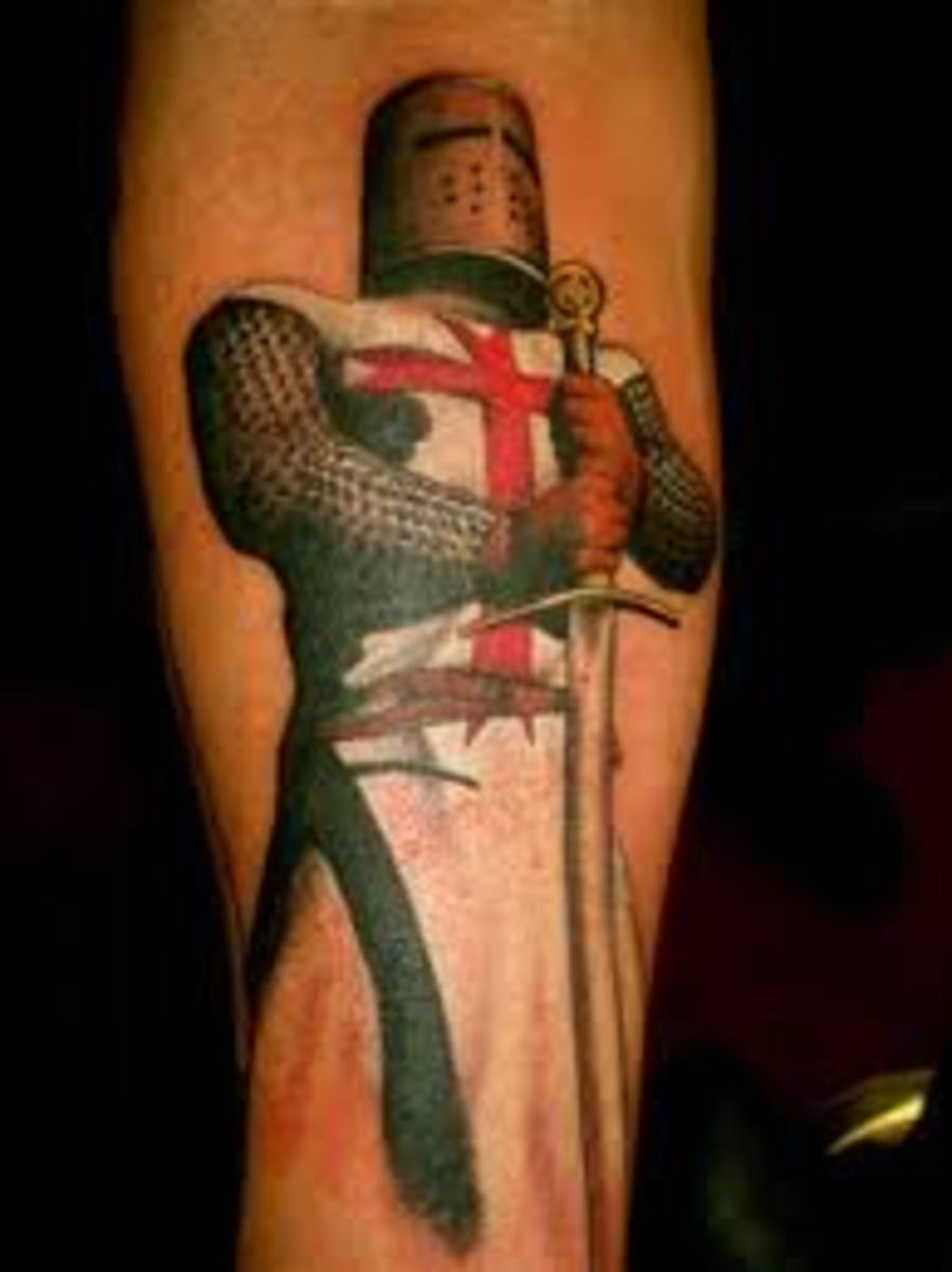 Knight Tattoo Ideas and Meanings | TatRing