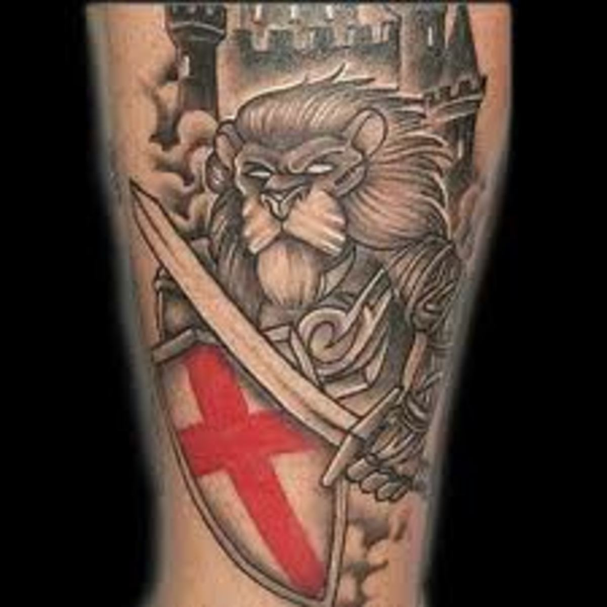 knight tattoo ideas and meanings tatring. Black Bedroom Furniture Sets. Home Design Ideas