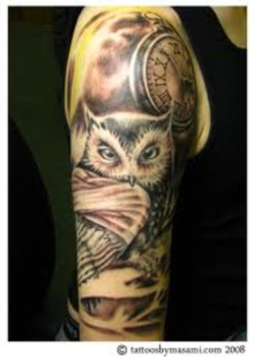 Owl Tattoos: Designs, Ideas, Meanings, and Photos | TatRing