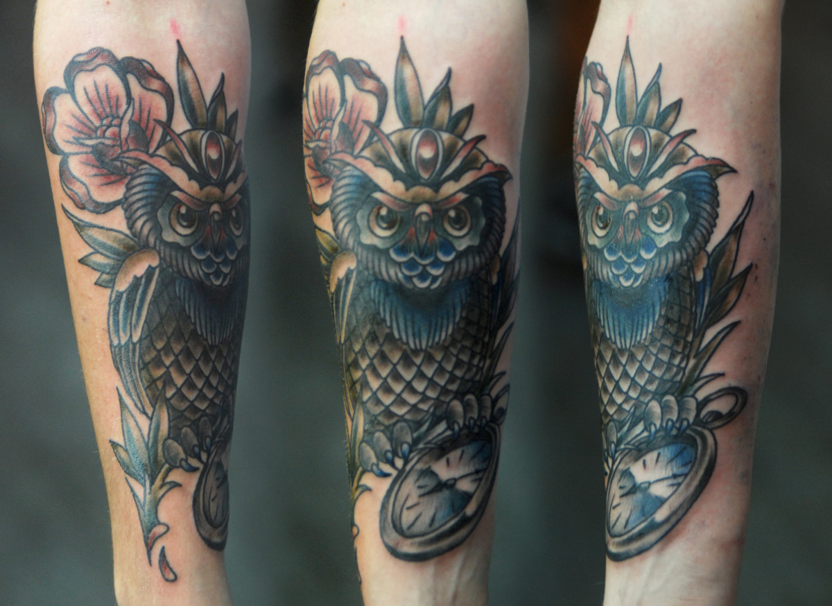 Owl Tattoos Designs Ideas Meanings And Photos Tatring