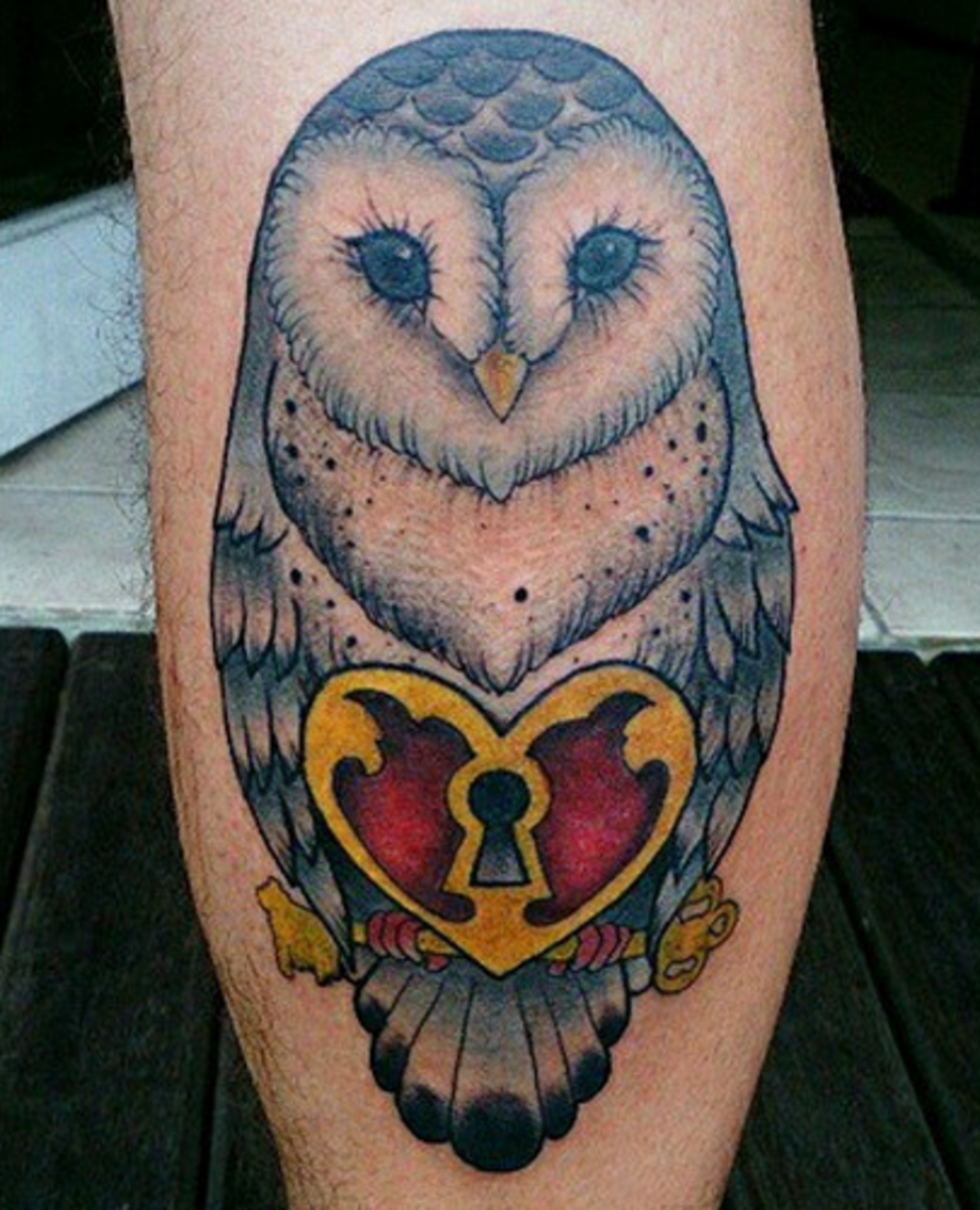 28 Owl Tattoo Designs Ideas: Owl Tattoos: Designs, Ideas, Meanings, And Photos