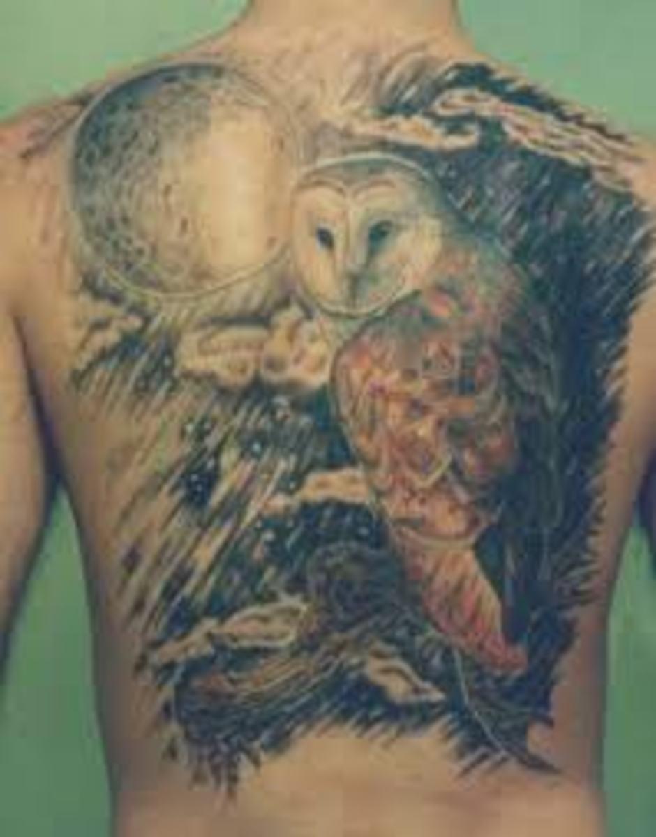idei-dlya-tatuirovok - Тату сова: эскизы, идеи, смыслы, и фотографии -  - фото