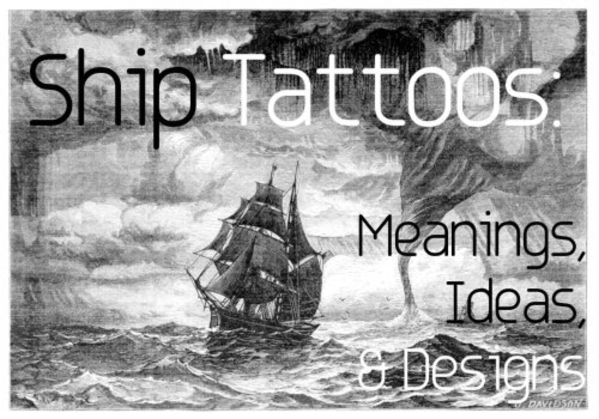 Ship Tattoos: Design Ideas and Meanings