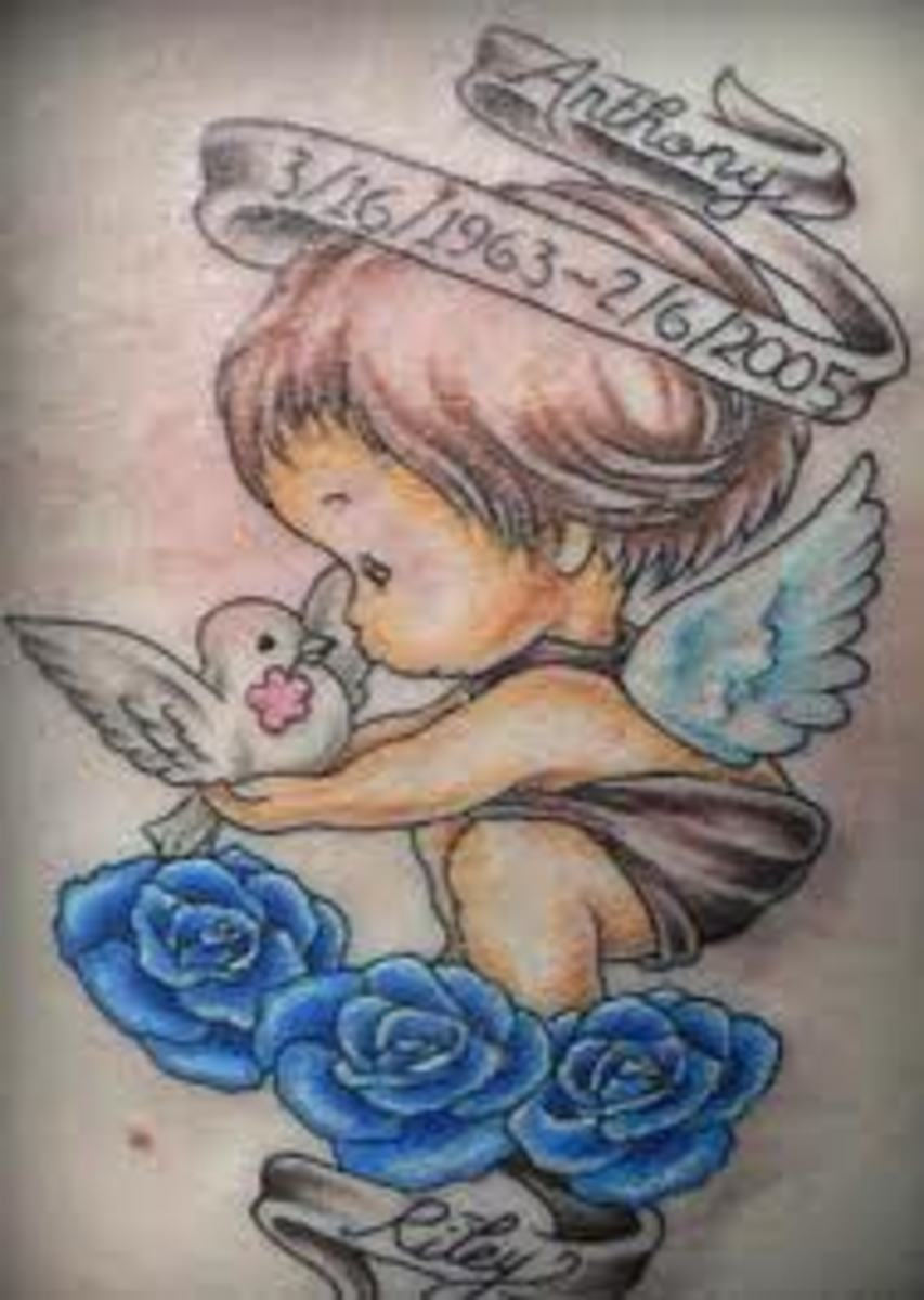 Cherub And Baby Angel Tattoo Designs And Meanings Tatring