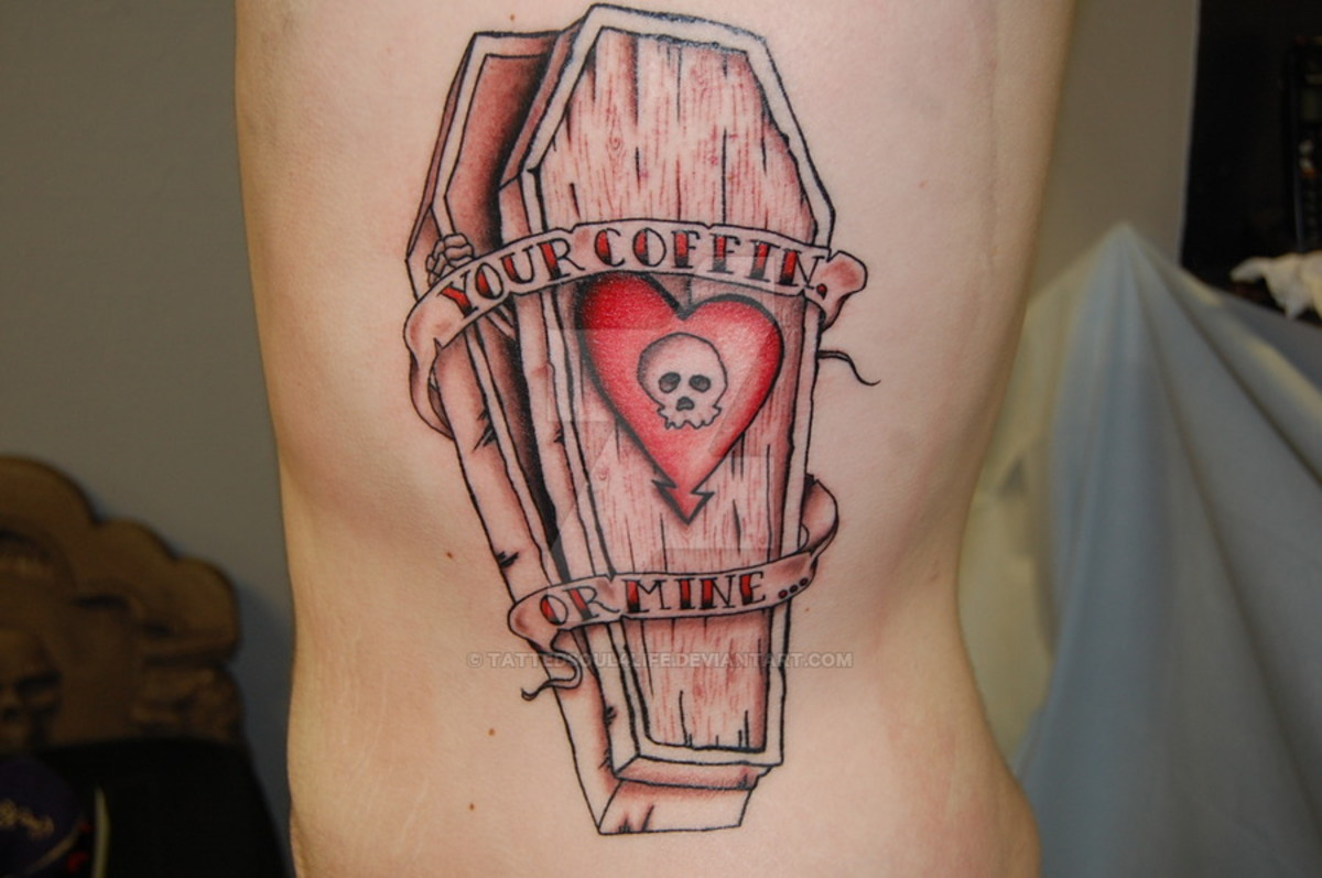 Coffin Tattoo Meanings, Ideas, and Designs