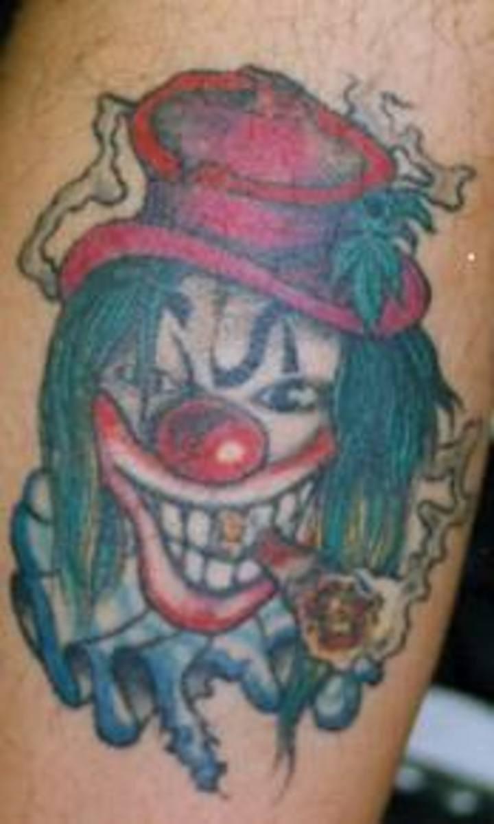 idei-dlya-tatuirovok - Татуировки клоунов: значение, эскизы, фото и идеи -  - фото