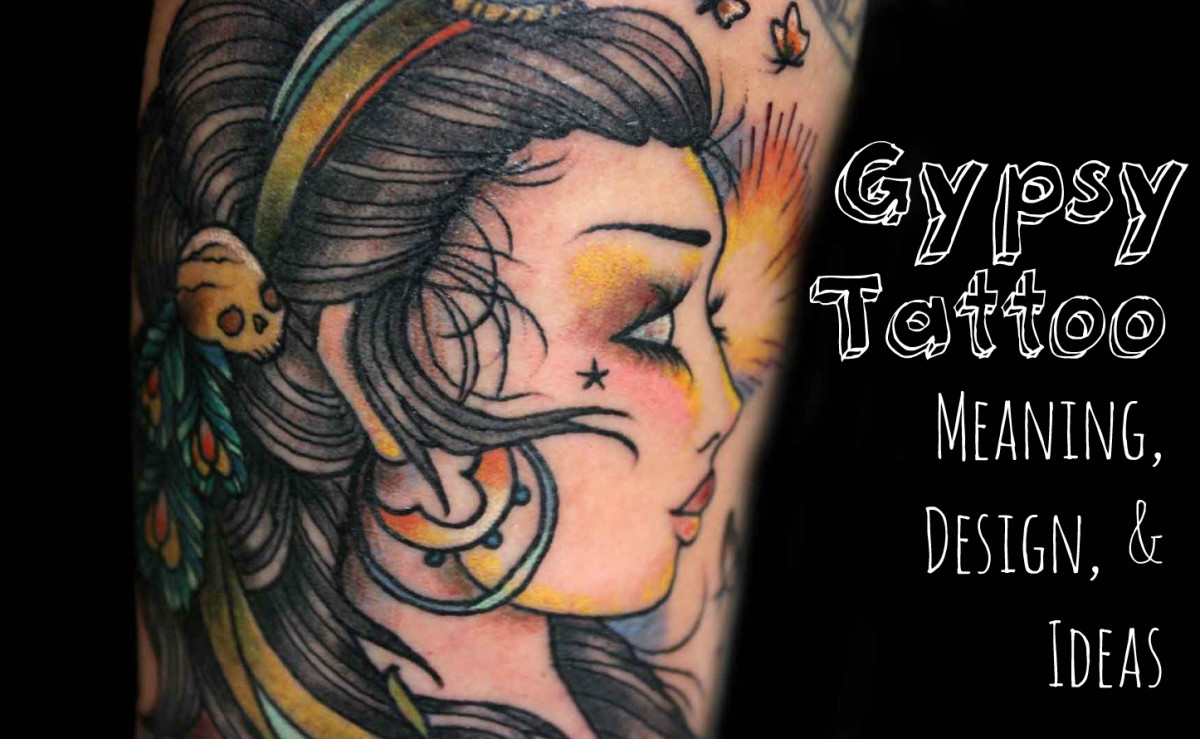 Gypsy Tattoo Designs, Ideas, & Meanings, with Photos