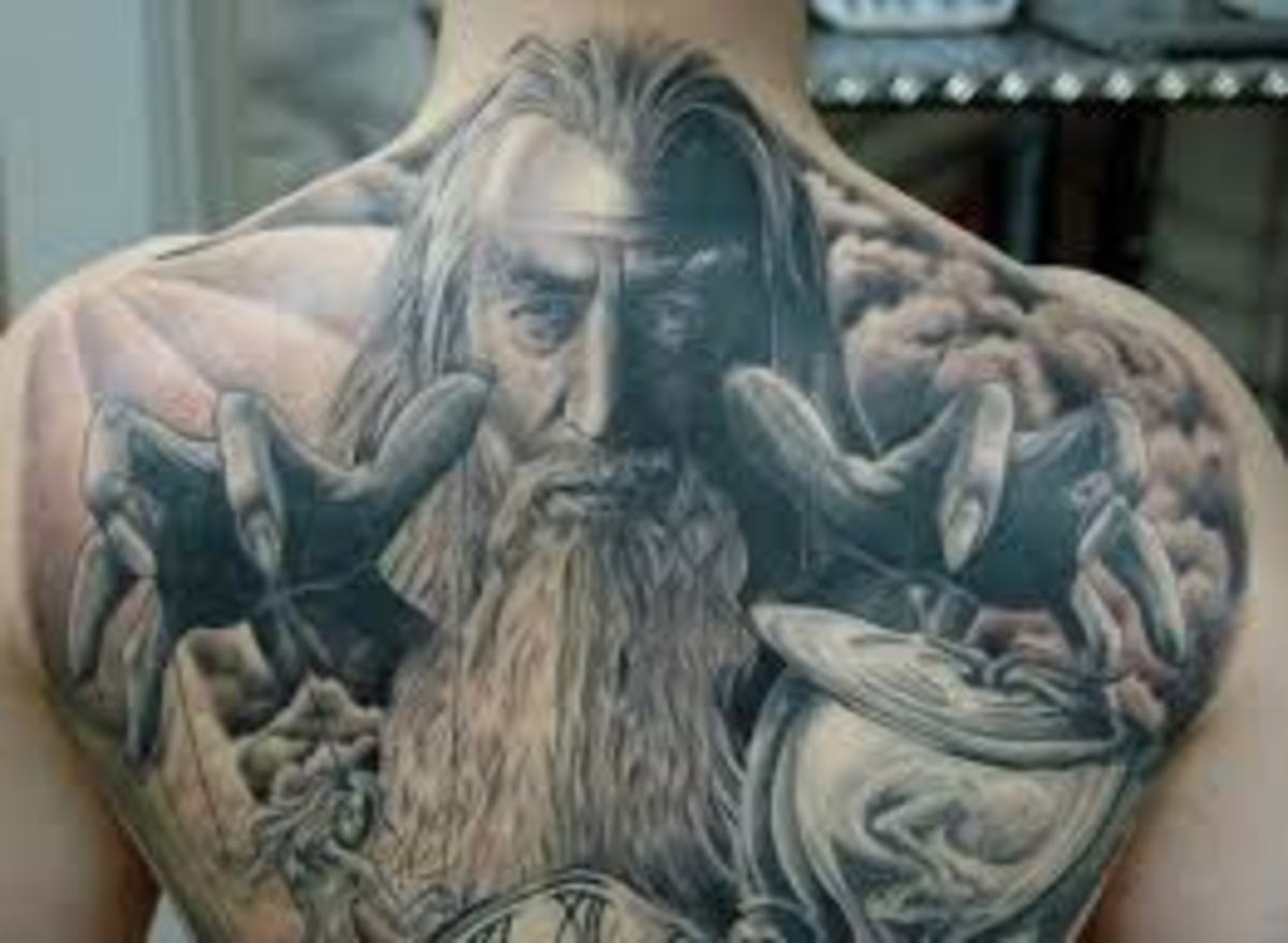 Wizard Tattoo Designs and Meanings