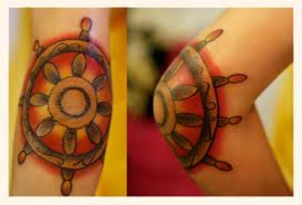 idei-dlya-tatuirovok - Татуировки—колесные конструкции корабля и смыслов -  - фото