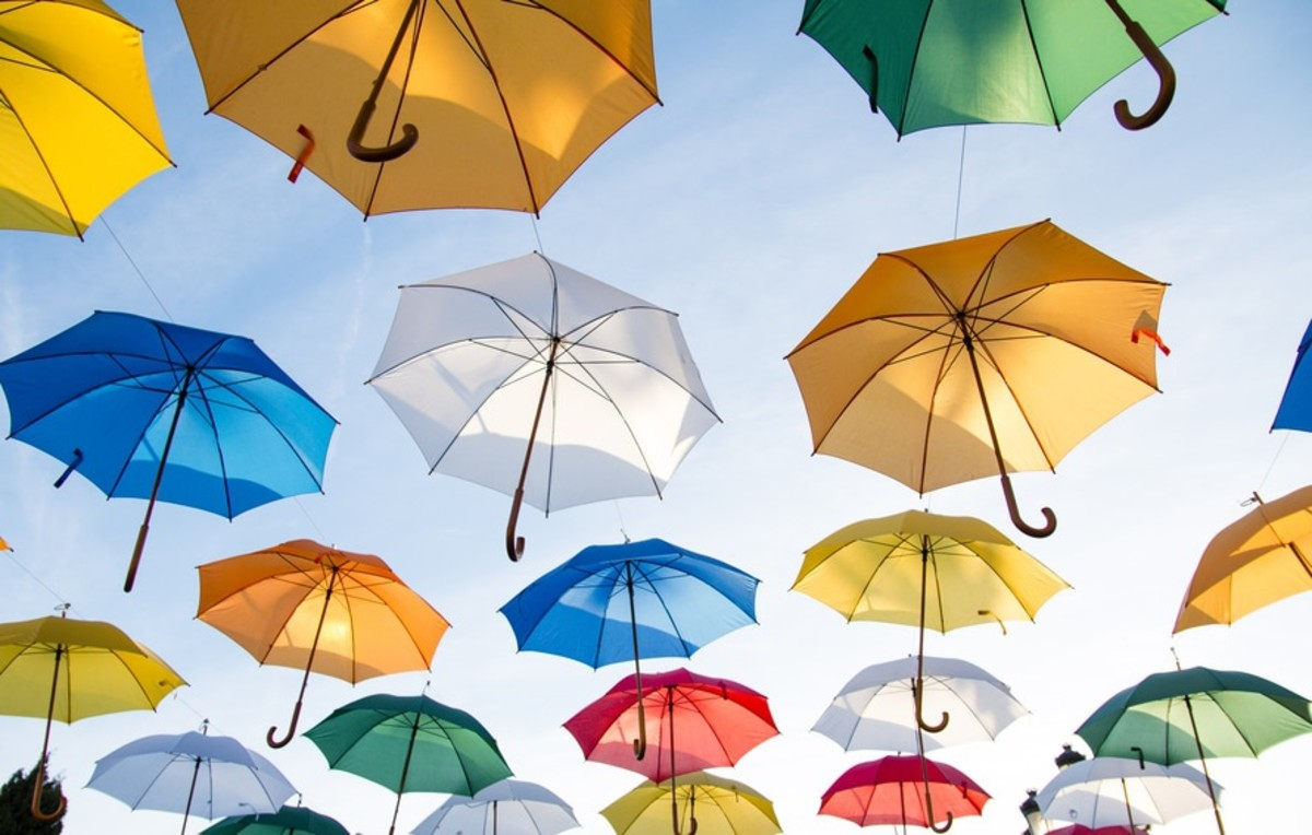 Umbrella Tattoo Designs, Meanings, and Ideas