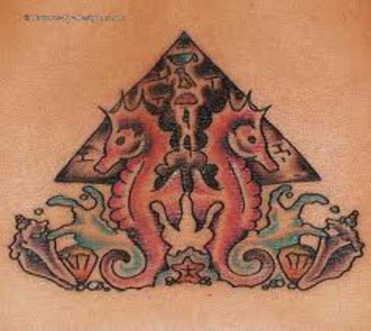 idei-dlya-tatuirovok - Татуировки пирамида: смыслы, проекты и идеи -  - фото
