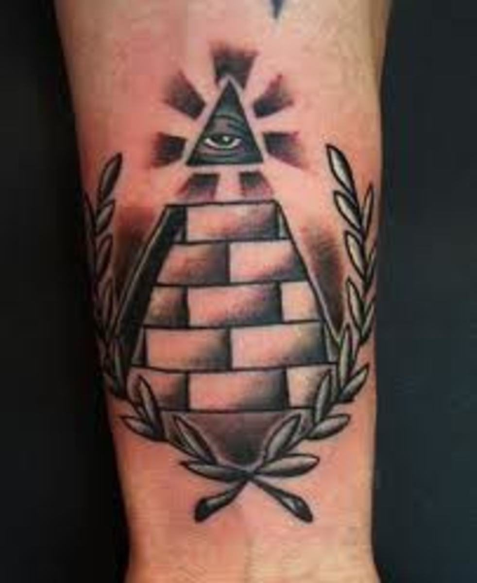 Pyramid Tattoos Meanings Designs And Ideas Tatring