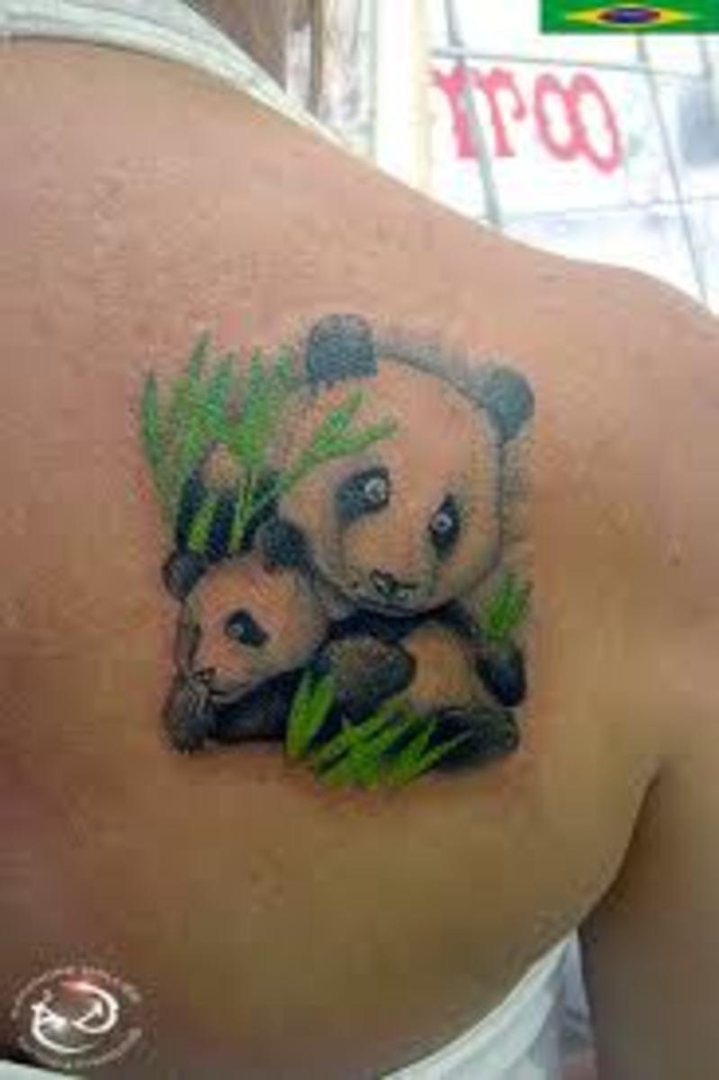 idei-dlya-tatuirovok - Панда татуировки: значение, эскизы, рисунки и идеи -  - фото