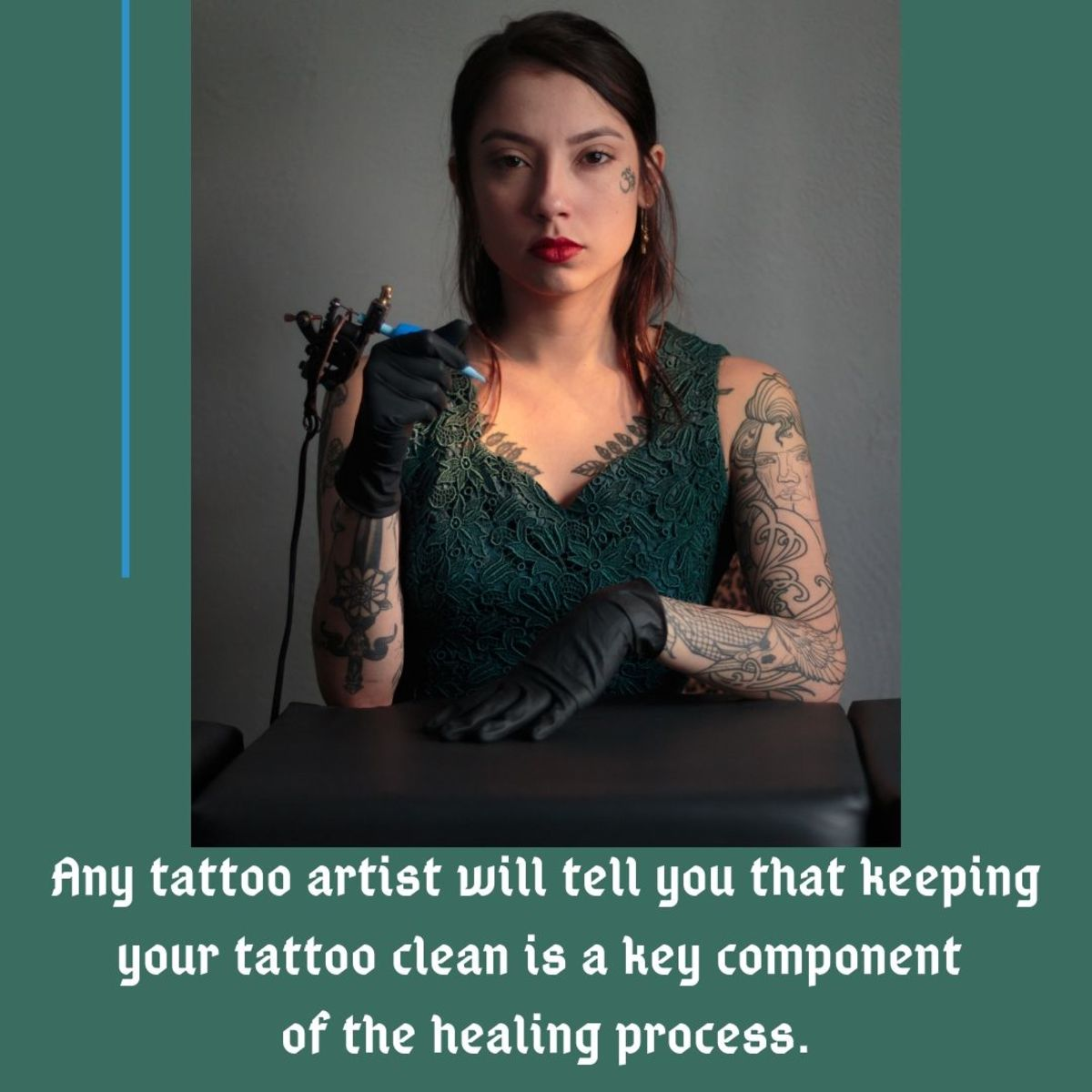 Make sure to keep your tattoo clean and moisturized during the healing process.