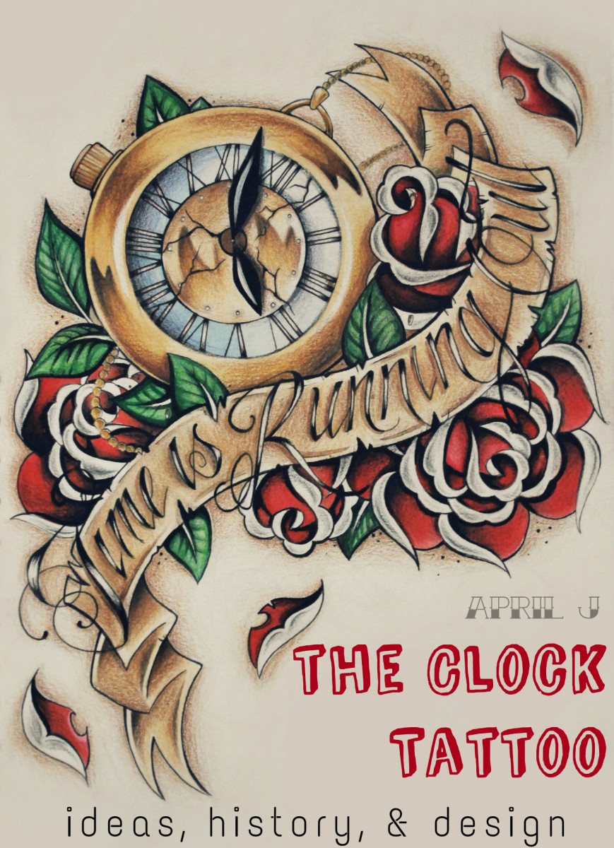 clock tattoos history design meaning