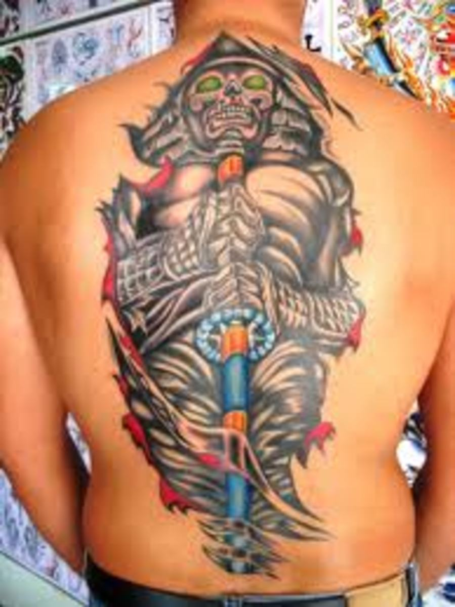 japanese samurai tattoos and meanings. Black Bedroom Furniture Sets. Home Design Ideas