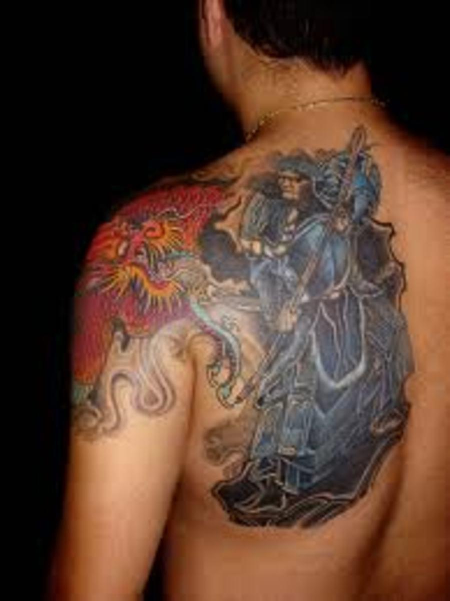 idei-dlya-tatuirovok - Татуировки японских самураев: идеи, проекты, и смыслы -  - фото