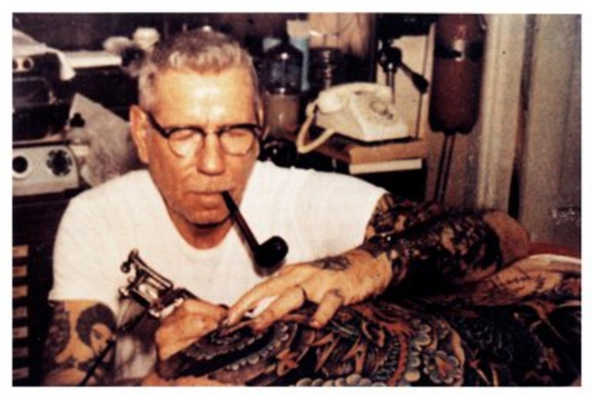 Norman Keith Collins, AKA Sailor Jerry, helped turn nautical tattoos into an art form.