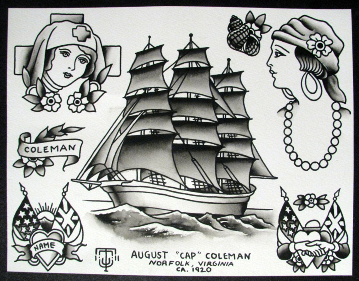 Cap Coleman tattoos