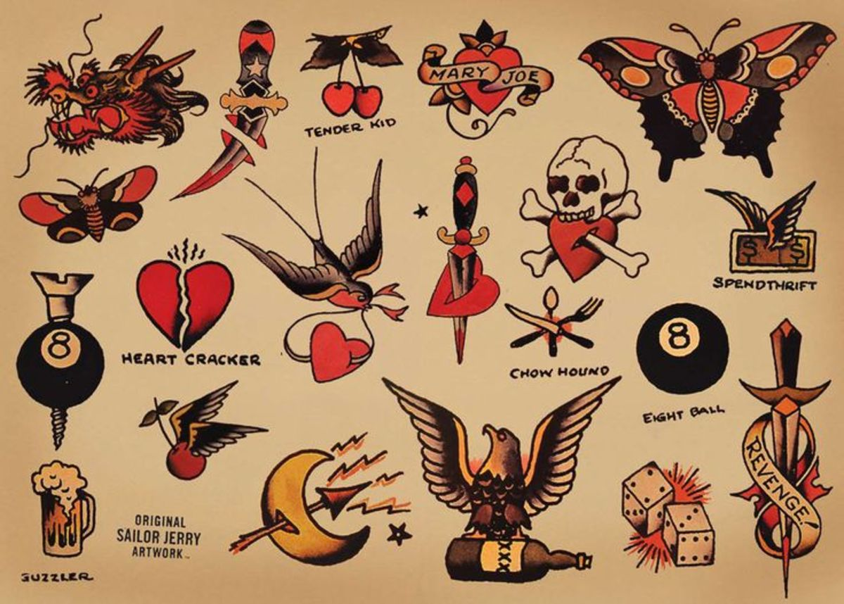 Sailor Jerry Vector