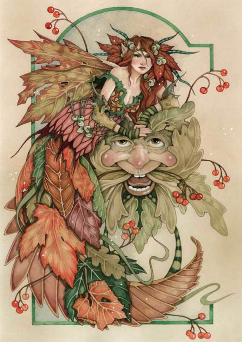 Faeries of fall.