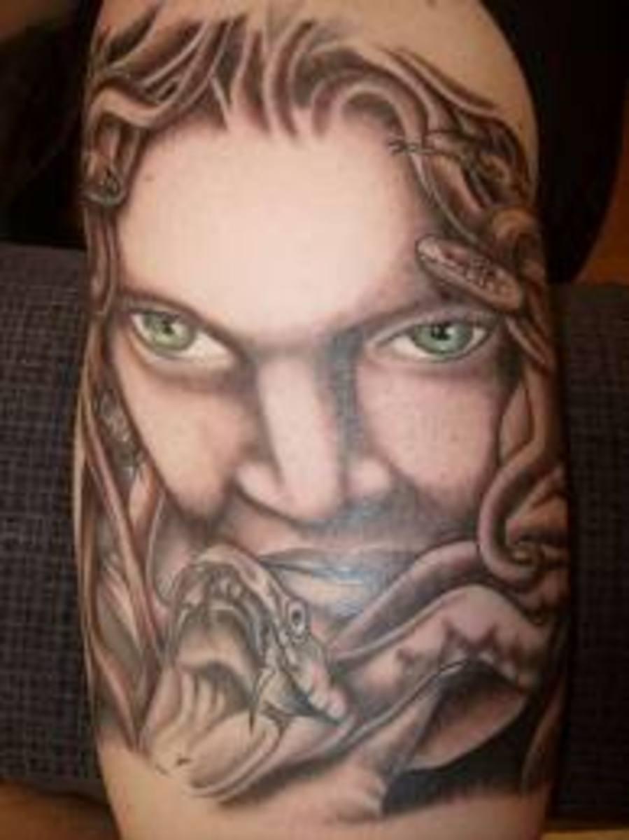 idei-dlya-tatuirovok - Медуза татуировки, эскизы и значения -  - фото
