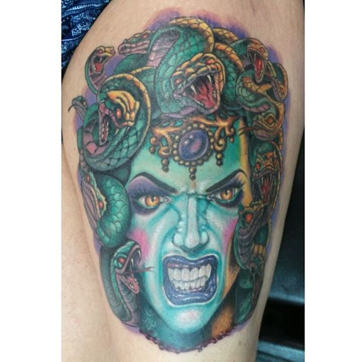 Medusa Tattoos, Designs, and Meanings
