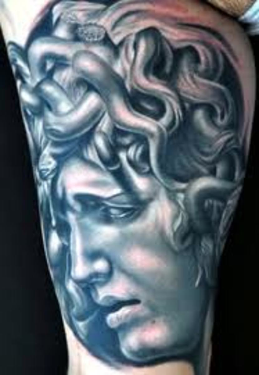 Medusa Tattoos, Designs, and Meanings | TatRing