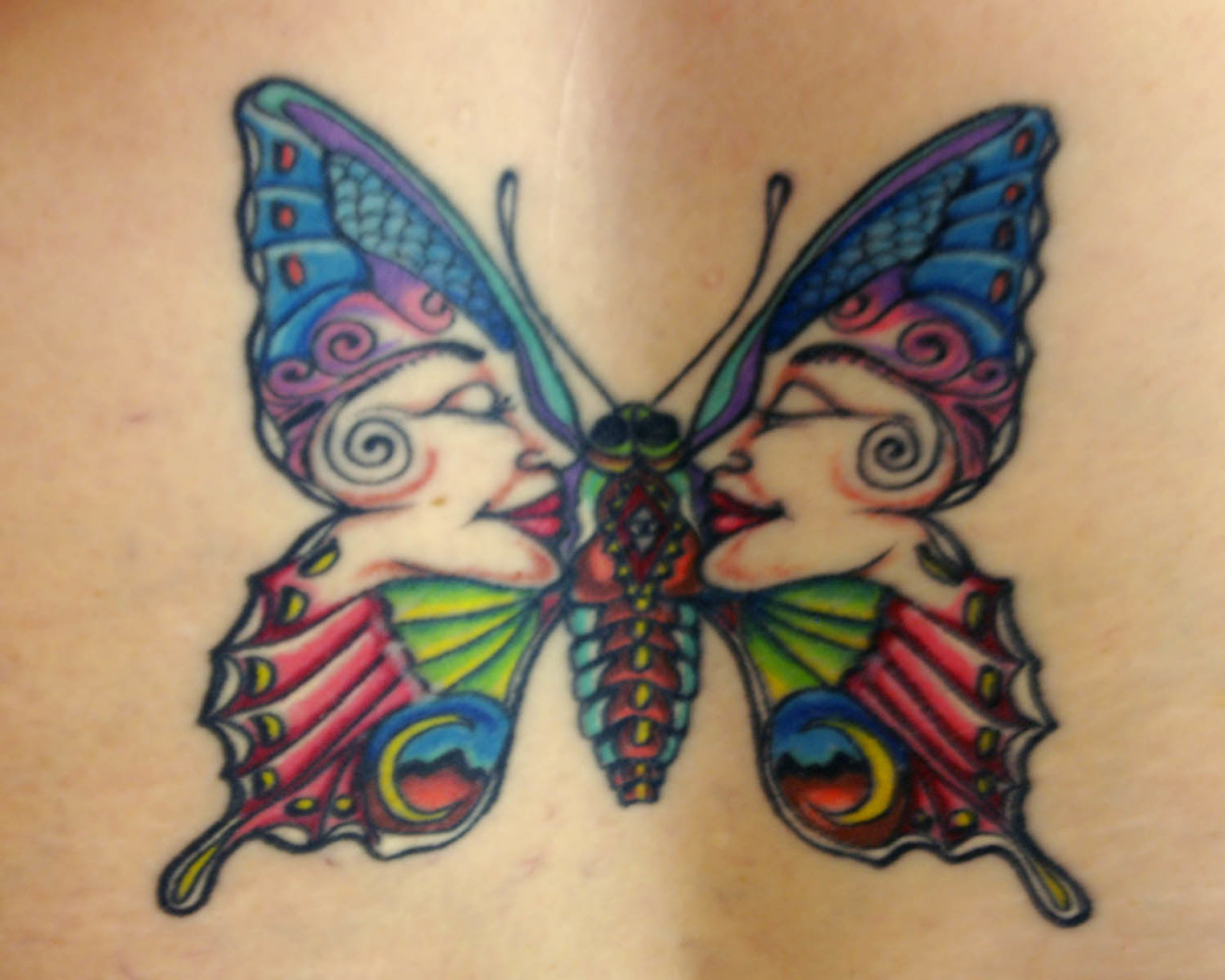 Butterflies are timeless and ageless