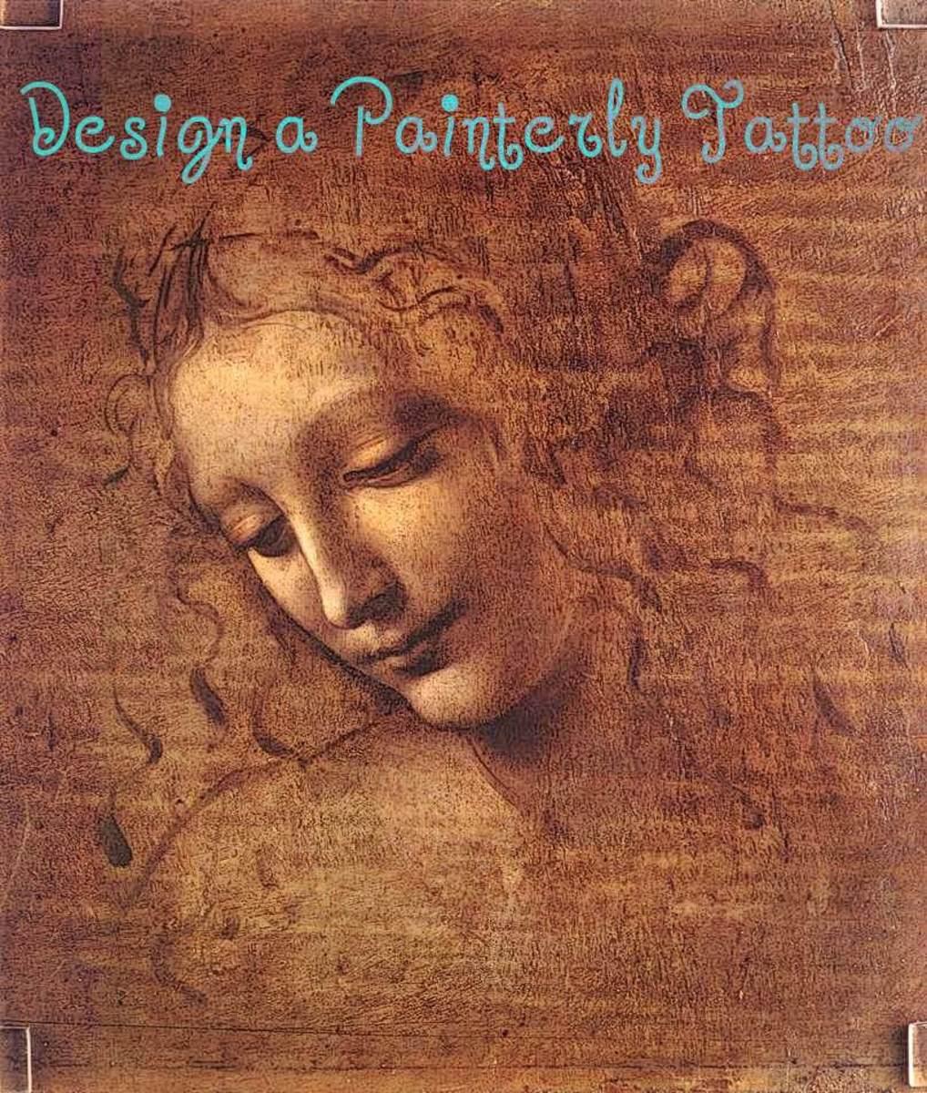 Choose La Scapigliata by Da Vinci for a design idea.