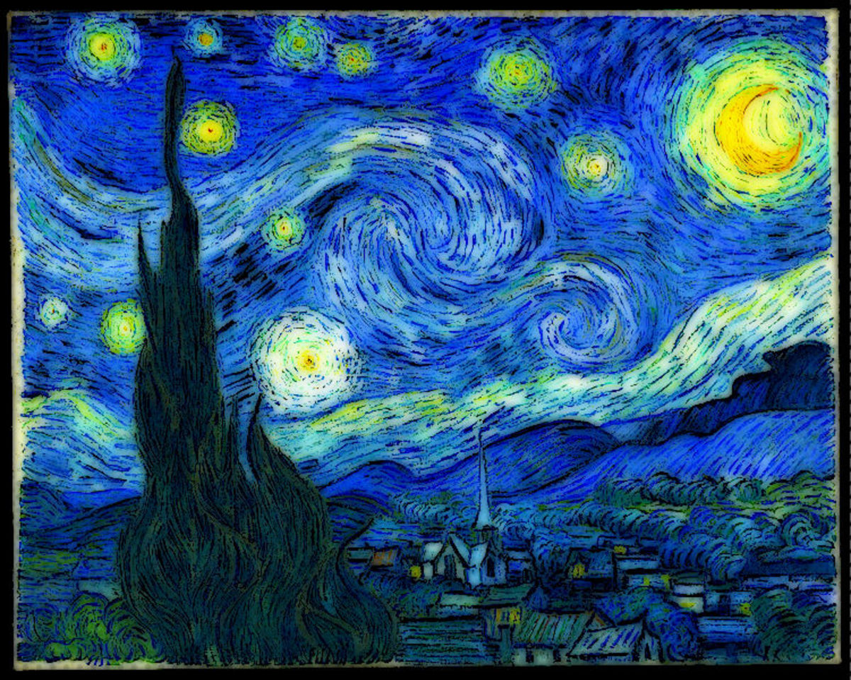 "Imagine the impressions swirls of color a la Van Gogh's ""Starry Night"" will garner when you get a painterly tattoo."